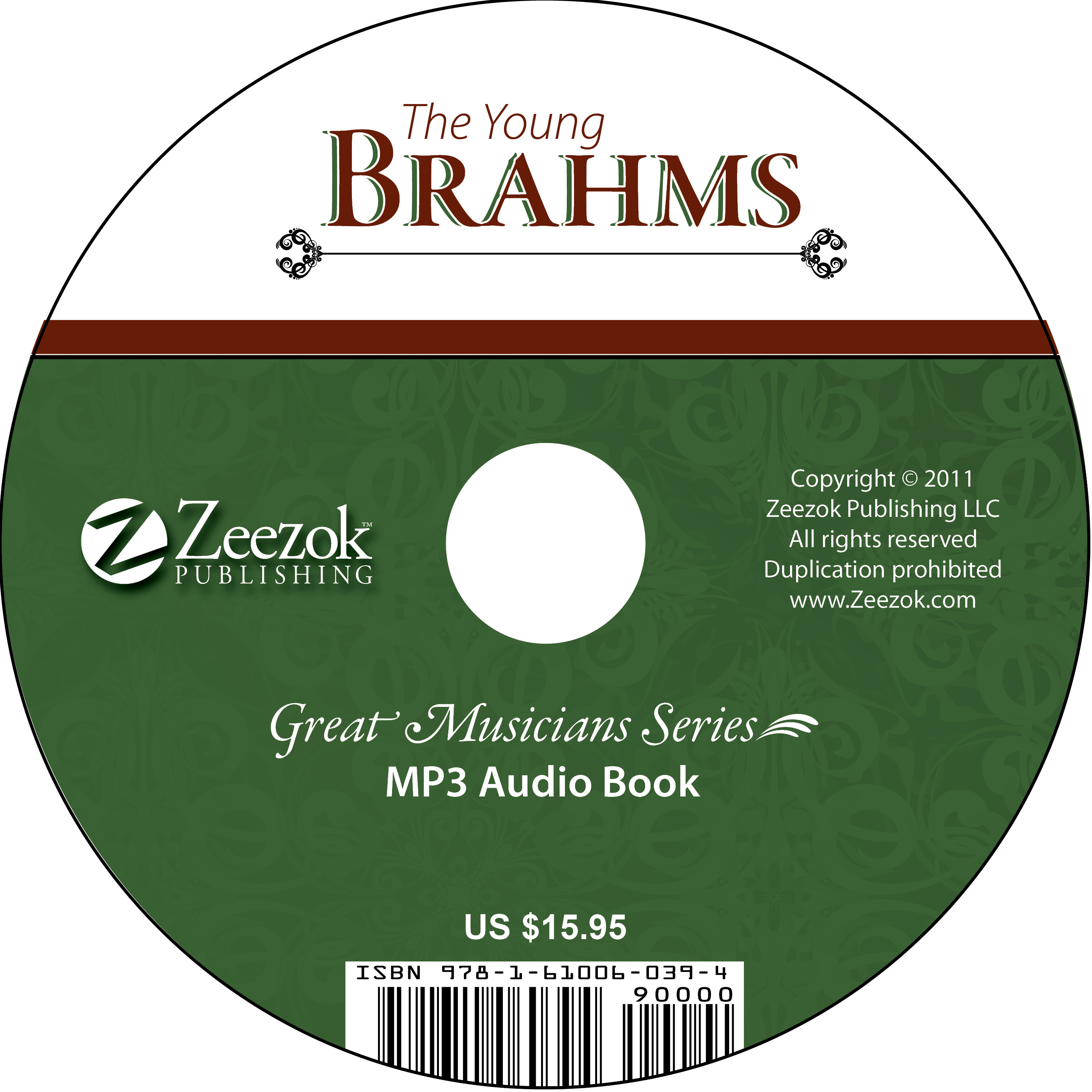 The Young Brahms Audio Book on CD (MP3 format) - photo#13