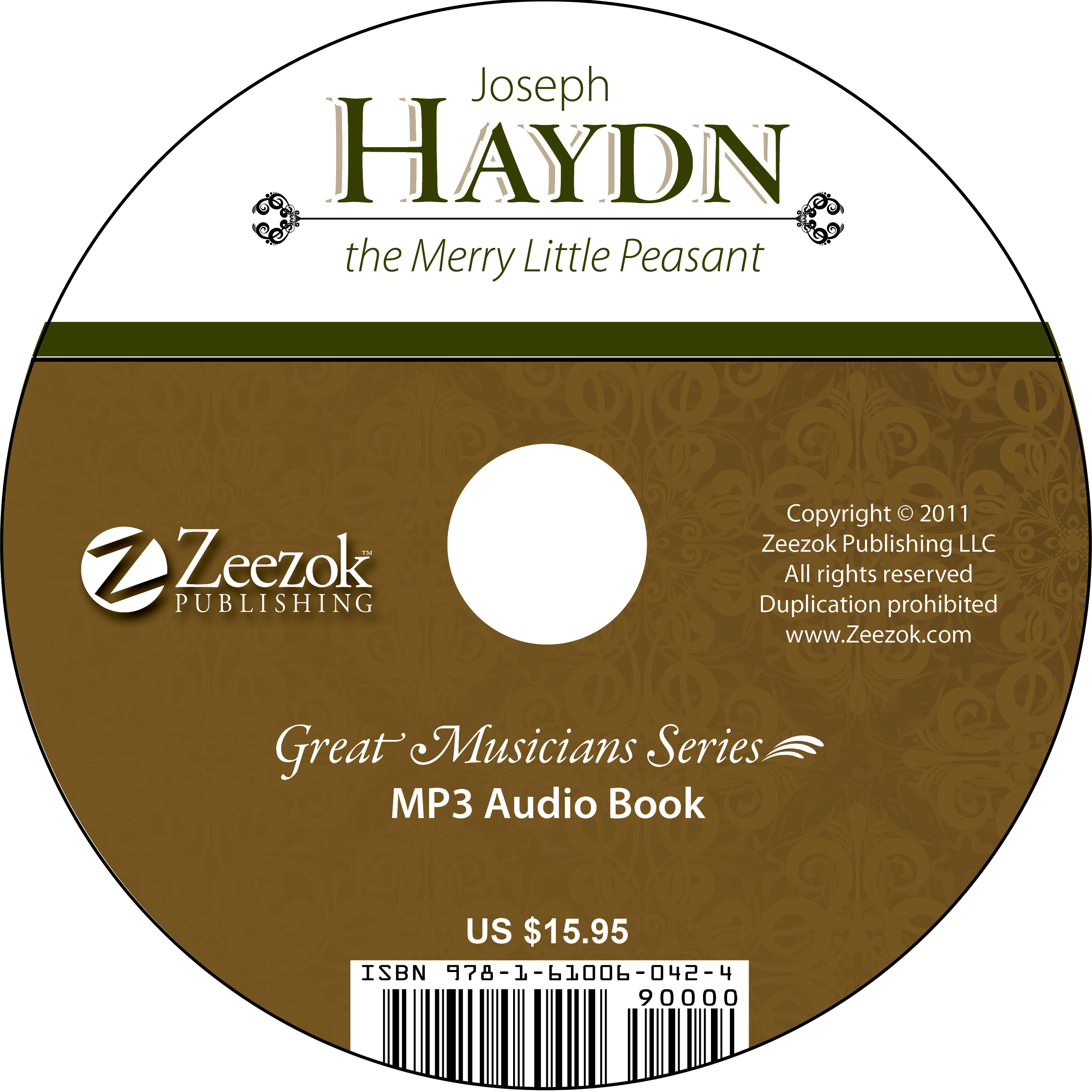 Joseph Haydn, The Merry Little Peasant Audio Book on CD ... - photo#40