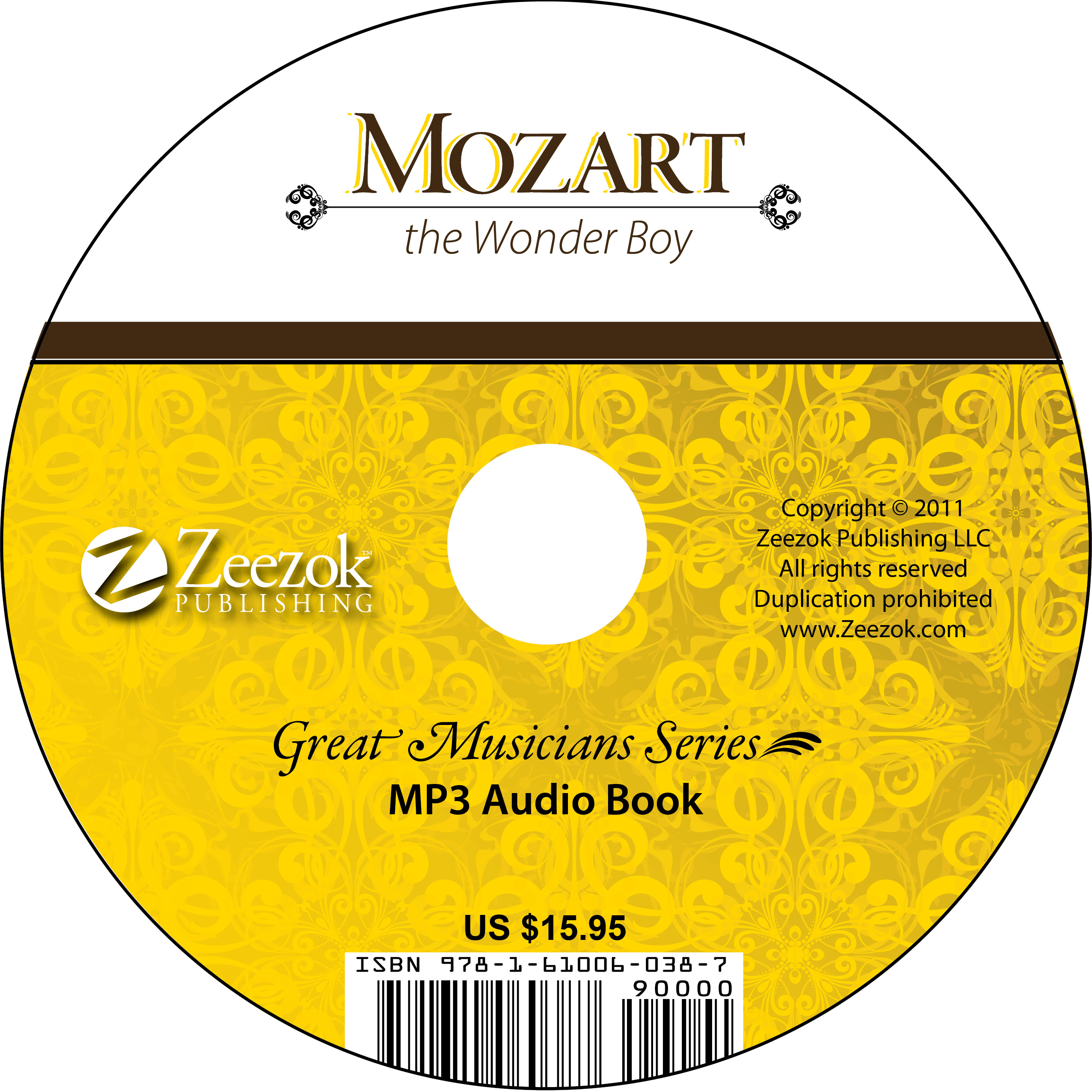 Mozart, The Wonder Boy Audio Book on CD (MP3 format) - photo#17