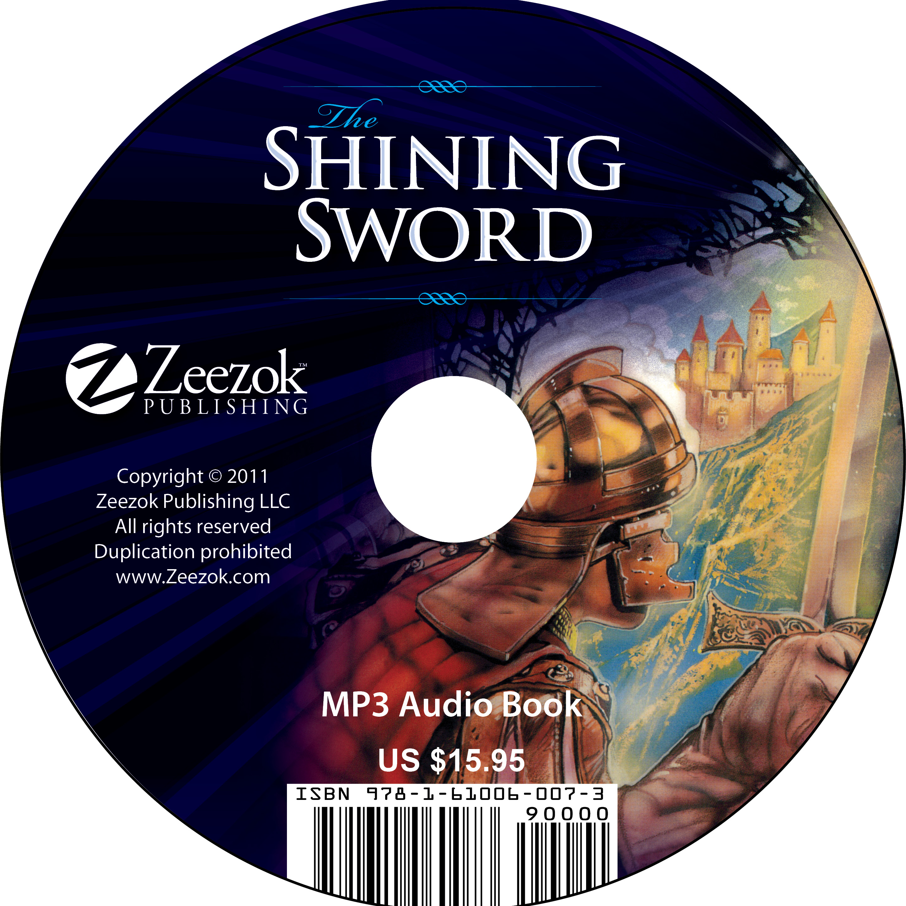 The Shining Sword Audio Book on CD (MP3 format) - photo#21