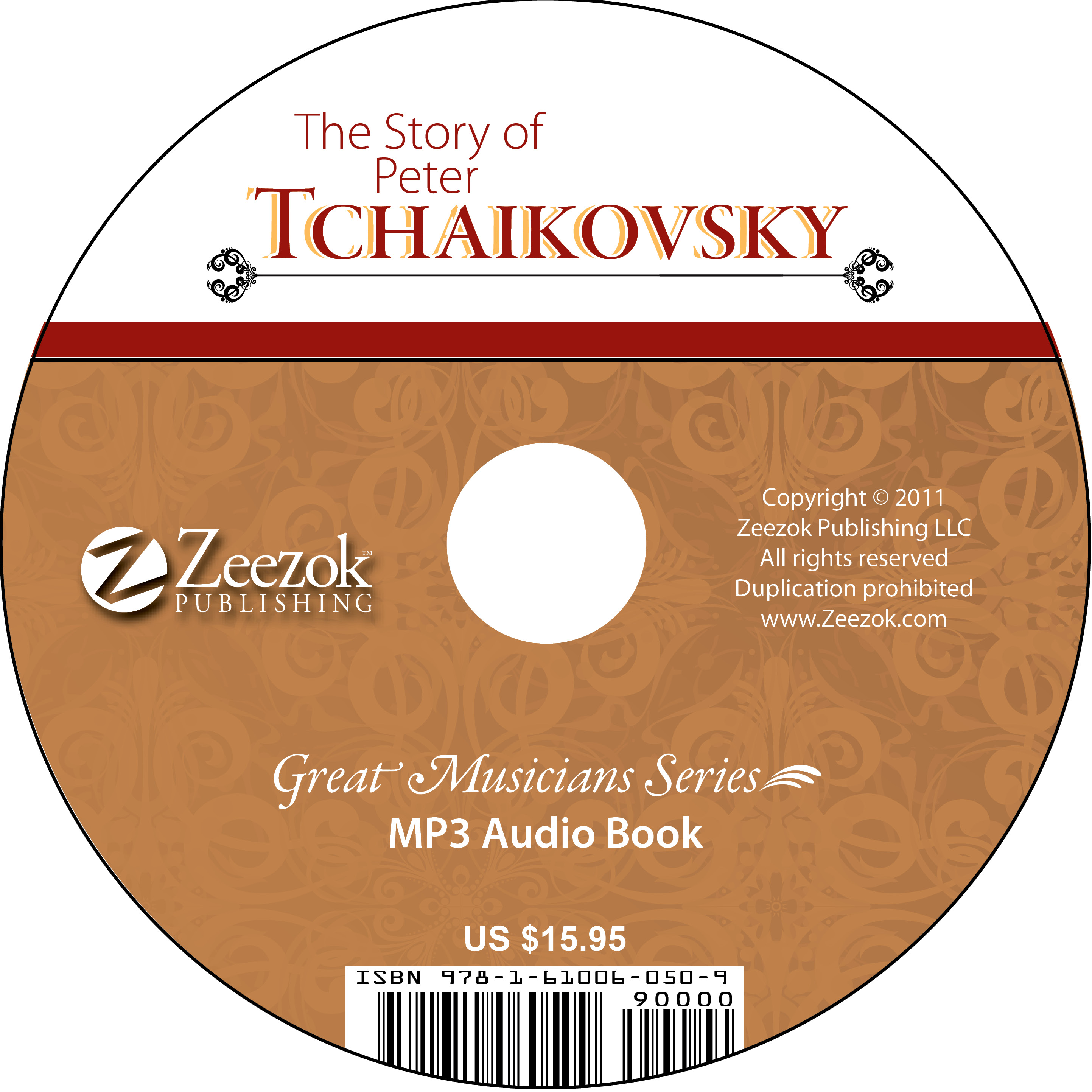 The Story of Peter Tchaikovsky Audio Book on CD (MP3 format) - photo#2