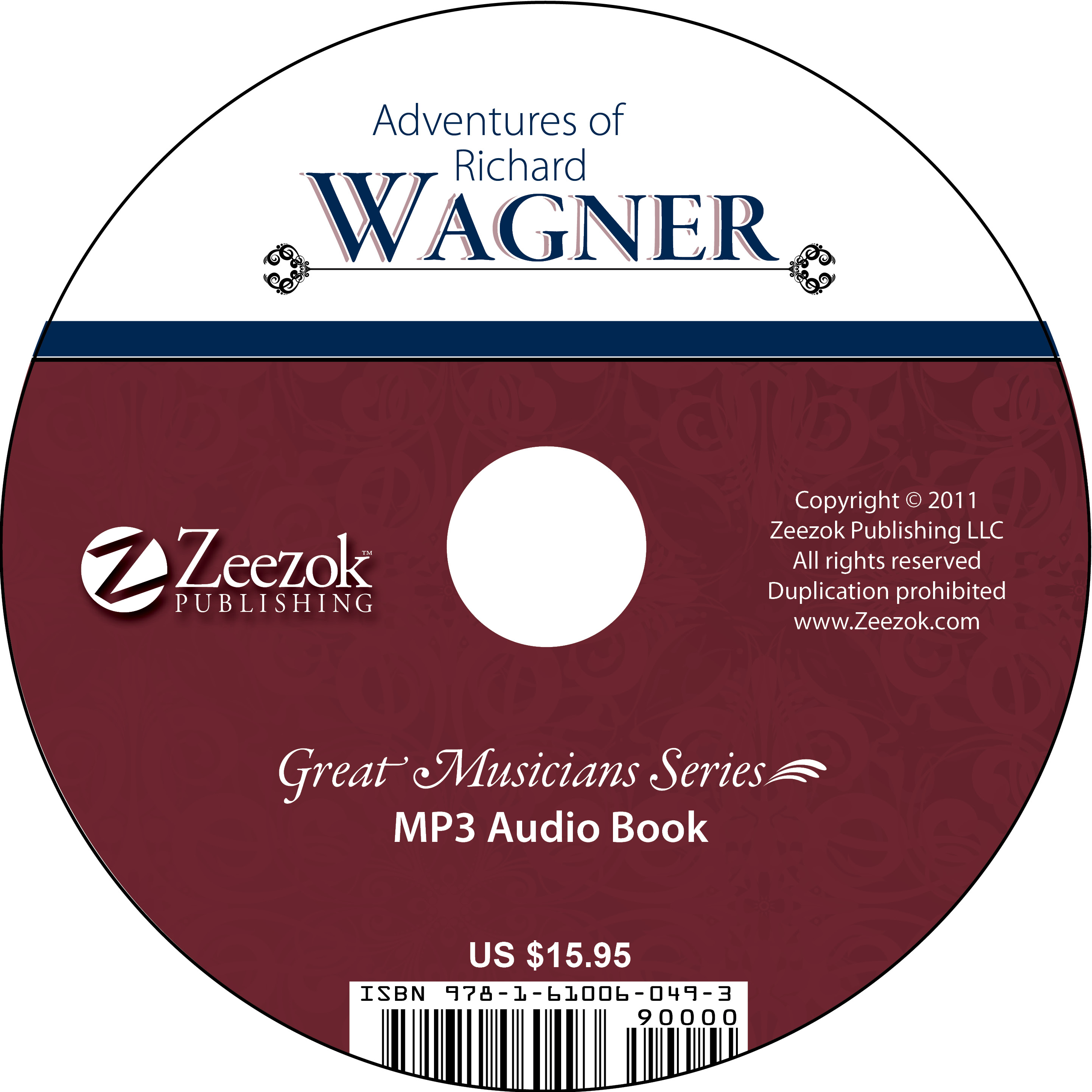 Adventures of Richard Wagner Audio Book on CD (MP3 format) - photo#12