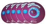 Music Appreciation Music Discs (5 Disc Set)