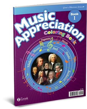 Music Appreciation: Book 1 Coloring Book