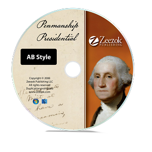 Presidential Penmanship--AB Style (Individual Grades)