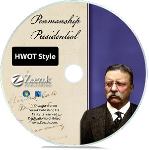 Presidential Penmanship--HWOT Style (Individual Grades)