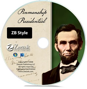 Presidential Penmanship--ZB Style (Individual Grades)