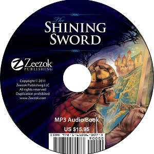 The Shining Sword Audio Book on CD (MP3 format)