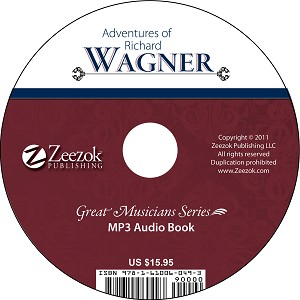 Adventures of Richard Wagner Audio Book on CD (MP3 format)