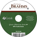 The Young Brahms Audio Book MP3 (download)